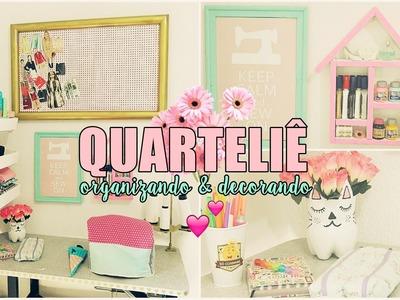 CANTINHO DA OVERLOCK | Organizando & Decorando ♥