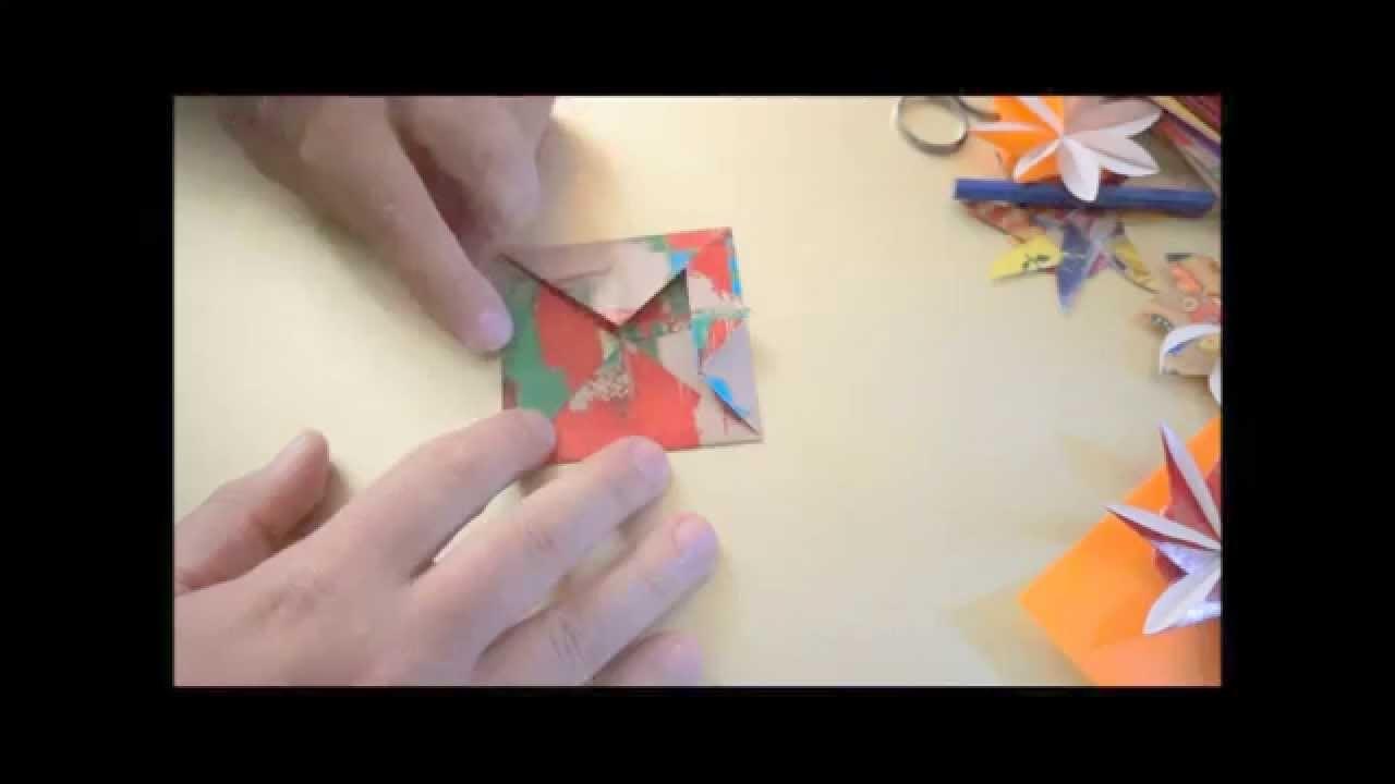 Como fazer um Origami Porta Retrato - Portrait Picture Frame Folder