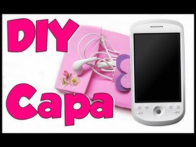 Como fazer uma bolsinha para celular e tablet de meninas