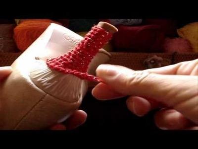 Crochê - Sapato Vermelho - Parte 02.04