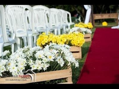 DIY - Casamento com Paletes e Caixotes (Inspire-se)