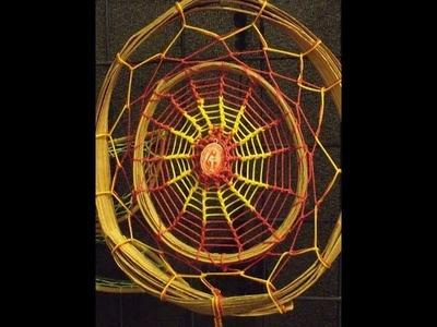 Filtro dos Sonhos - Teia de Aranha - como fazer?