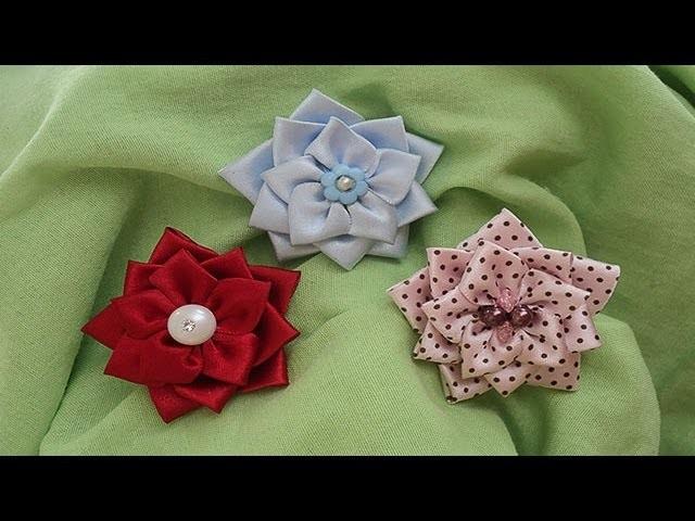 Flor de cetim | Passo a Passo - DIY