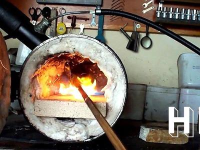 Forja à Gás - DIY - Furnace