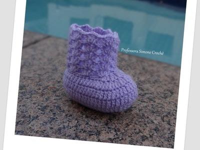 Modelos Sapatinhos de Crochê ( Criados pela Professora Simone )