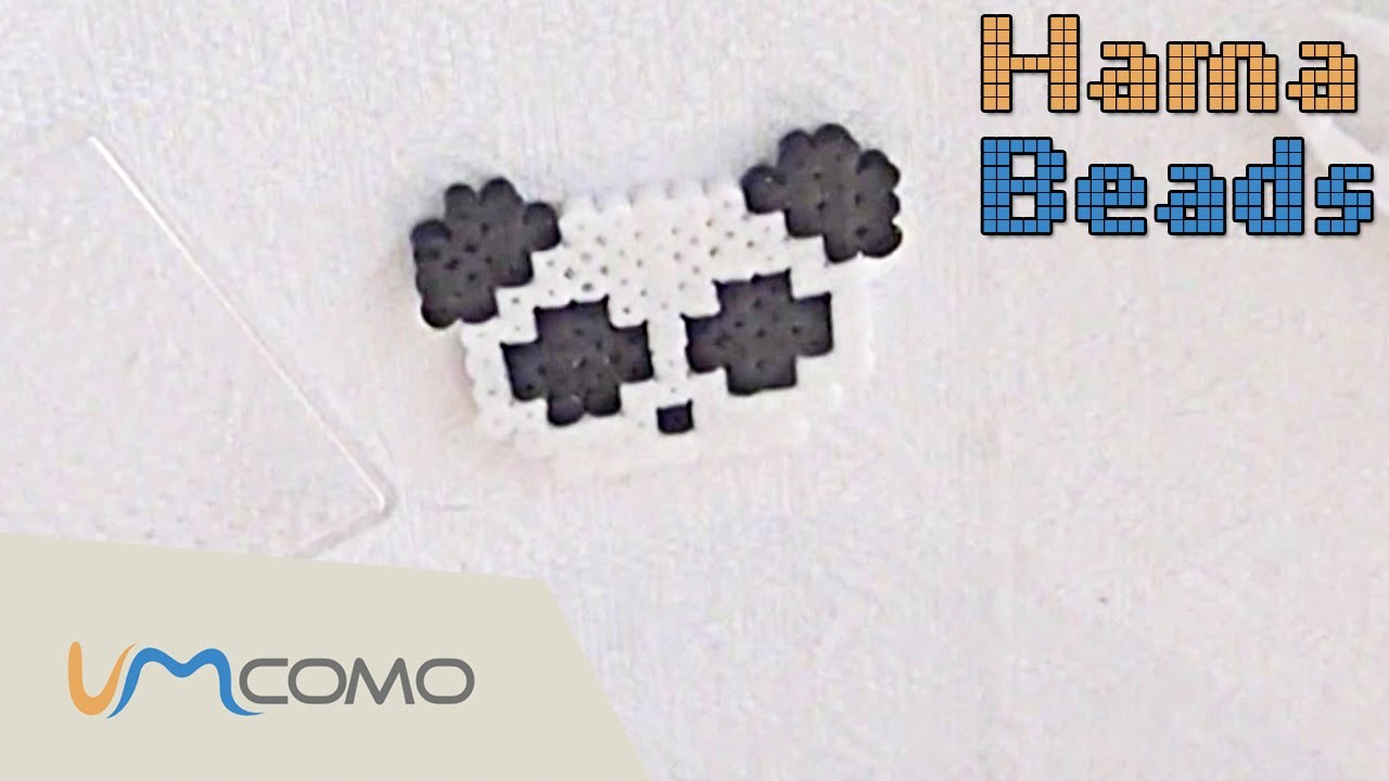 Perler Beads Tutorial - Panda