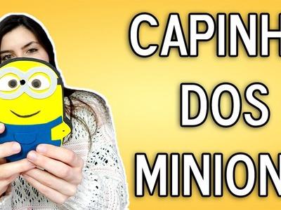Como fazer Capinha. Case de Celular dos Minions - DIY