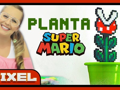Planta do Super Mario | DiY Pixel Art