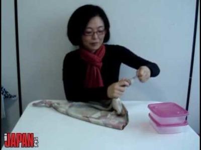 Aprenda a fazer uma bolsa de furoshiki