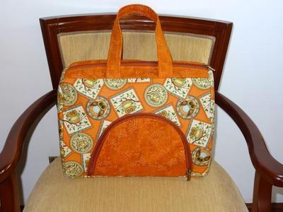 Bolsa em tecidos Cindy - Maria Adna Ateliê - Cursos e aulas de bolsas e carteiras em tecidos