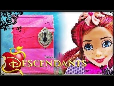 Disney Descendentes - Tutorial Diário da Jane filha da Fada Madrinha! DIY