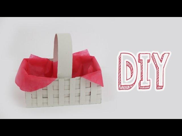 DIY:  Cesta da chapeuzinho vermelho - Halloween