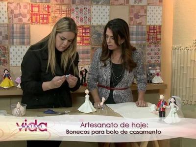 Vida Melhor - Bonecos de Biscuit (Adriana Aveiro)