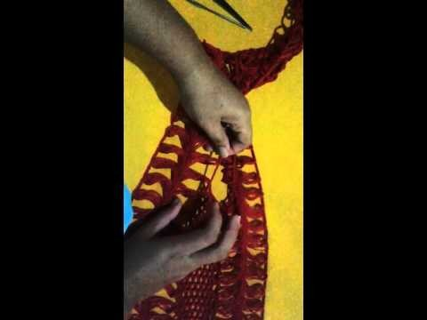 Blusa em crochê de grampo (Laterais) (Crochê Pai D'égua)