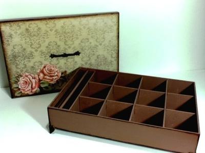 Caixa de Bijuteria em MDF por Anne Augusto