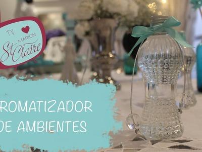 Como Fazer Aromatizador de Ambientes - Lembrancinha de Casamento - DIY - Faça Você Mesma