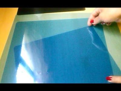 Como fazer uma folha de acetato com radiografia