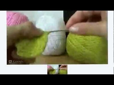 Crochê Ao Vivo - Porta Copos Colorido