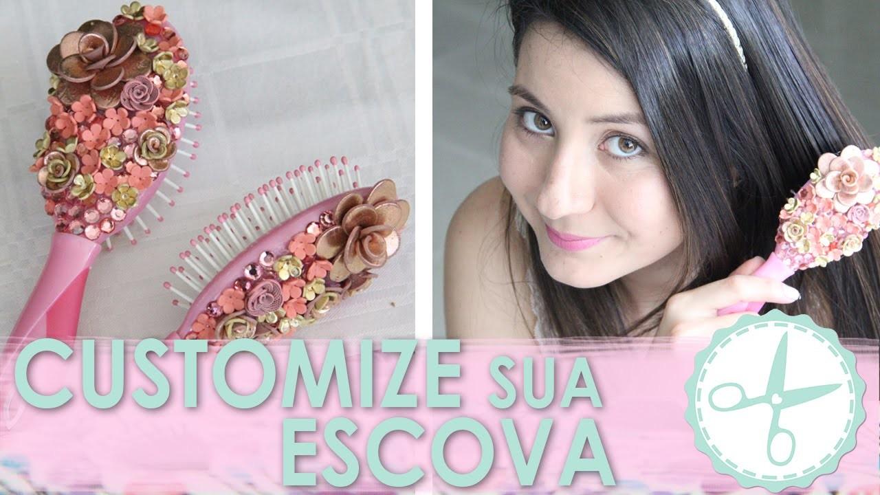DIY Escova Personalizada Biscuit - wFashionista