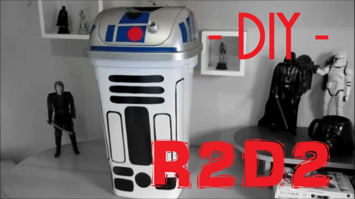DiY | Lixeira do R2D2 - Star Wars