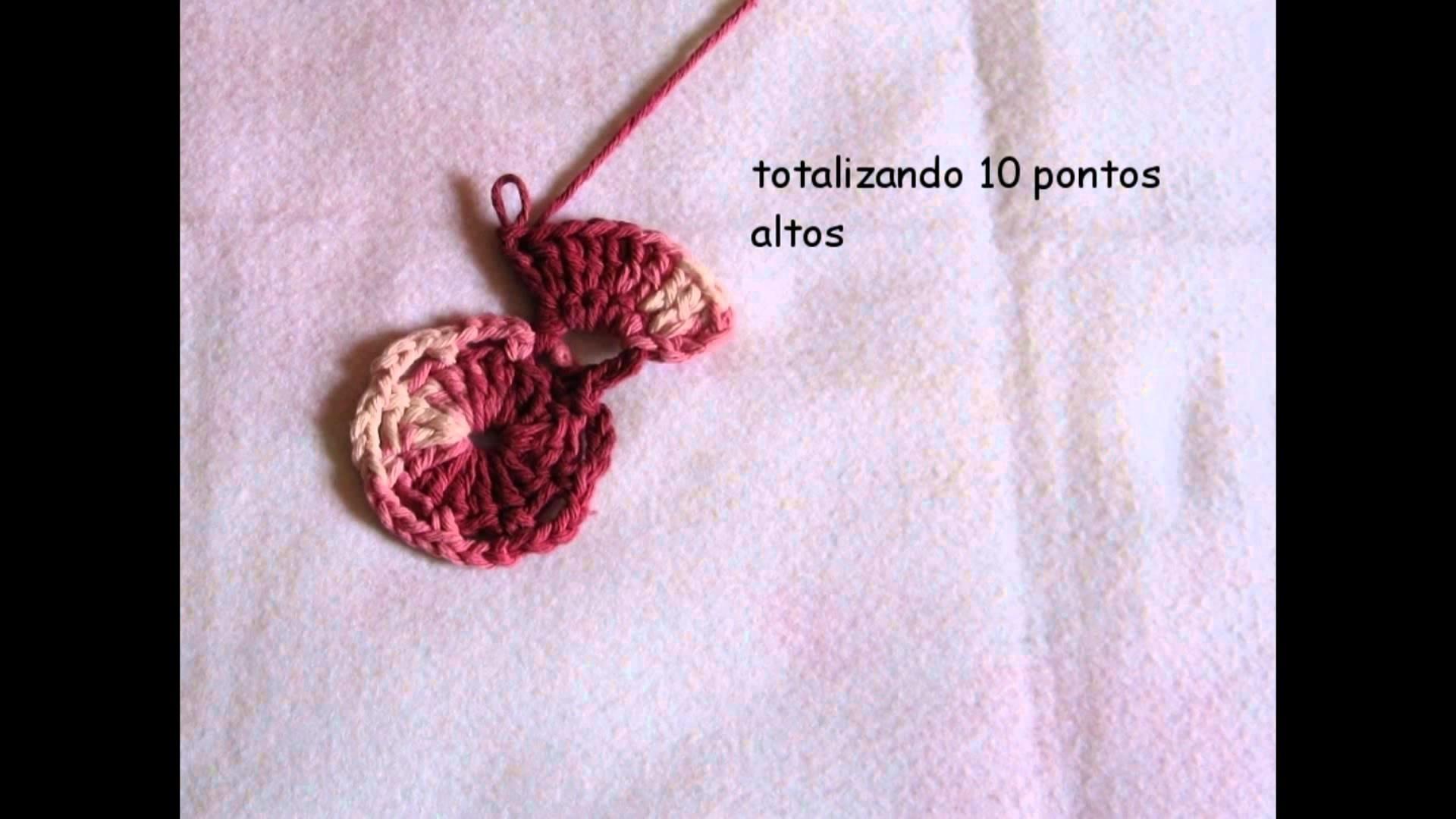 Flor Manacá Croche