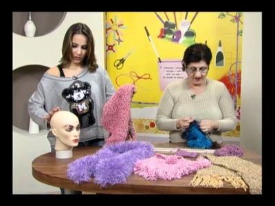 Mulher.com 31.05.2011 - Gola que vira gorro