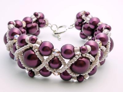 TheHeartBeading: Tutorial Bracelete de Pérolas