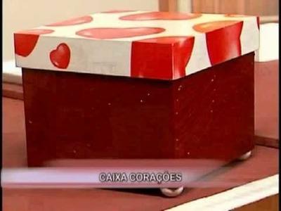 Caixa com Guardanapo - PARTE 1 - ATELIER DAS ARTES - MARISTELA FREITAS