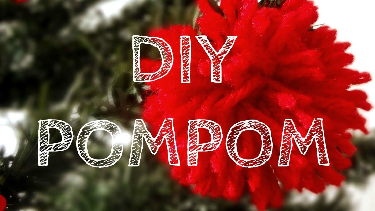 Como fazer um pompom - DIY