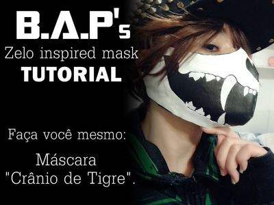 Zelo mask inspired tutorial - B.A.P
