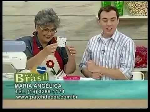 Arte Brasil   Toalha de Bandeja de Gripir - Maria Angélica
