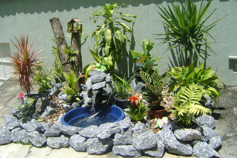 Como fazer um lago de jardim ( Faça você mesma ) DIY