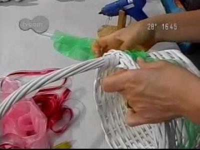Como fazer uma cesta de Páscoa