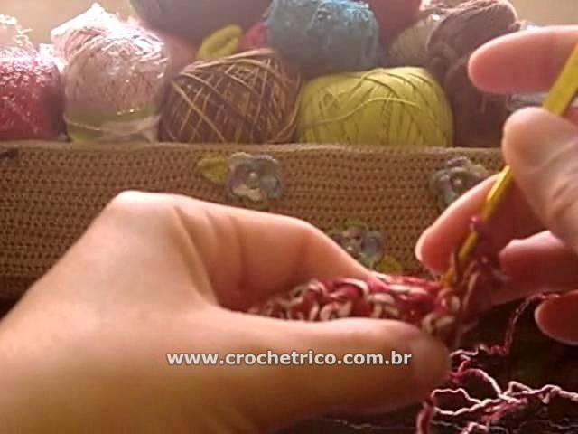 Crochê - Blusa Natalina - 01.02