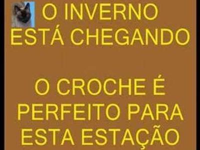 CROCHE PEÇA SURPRESA INVERNO 1 - 2ª PARTE