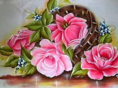 Pintura em tecido. Meus trabalhos.