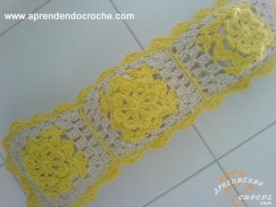Porta Papel Higiênico em Croche - Jogo de Banheiro Crochê Ouro  - 3º Parte