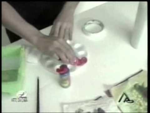Aprenda a decorar garrafas com Janete Pinheiro