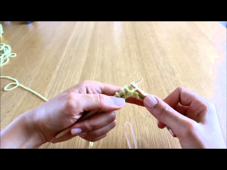 Curso de tricot - Querido Tricot: ponto mousse (garter stitch)