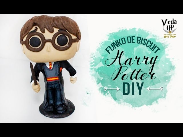 DIY HARRY POTTER FUNKO ❤ VEDA HP #11