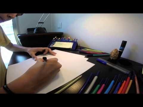 How To Draw The Impossible Triangle | Como Desenhar Um Triângulo Impossível