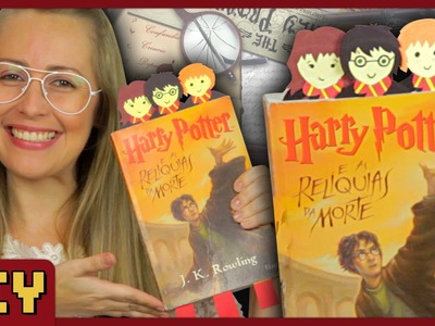 Marca Página do Harry Potter - DiY Geek