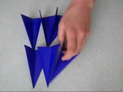 Origami estrella 3