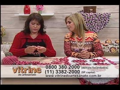 Tapete de Crisântemo - Maria José - Vitrine do Artesanato na TV