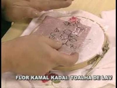 ARTE BRASIL -- VALQUÍRIA CAMPANELLI -- FLOR KAMAL KADAI (12.04.2011 - Parte 2 de 2)