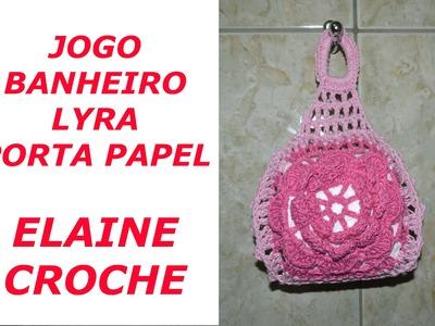 BANHEIRO LYRA PORTA PAPEL CROCHE