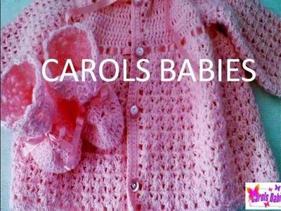 Casaquinhos De Tricô E Crochê Para Seu Bebê  !