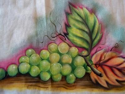 Como Pintar Uvas