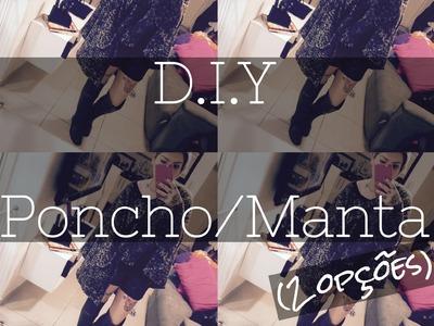 D.I.Y - Poncho.Manta.