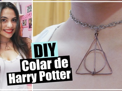 DIY: Colar de Harry Potter | Andressa Moraes